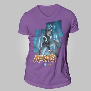 Epoch Merch AEGIS Unisex V-Neck T-Shirt