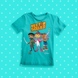 Epoch Merch Vector Squad Kids T-Shirt