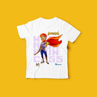 Epoch Merch Barikisu kids T-shirt