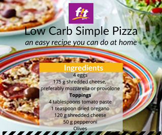 An easy Low Carb Pizza