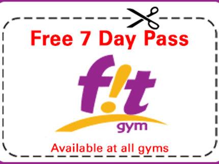 FREE 7 Day Pass