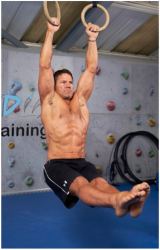 How Explorer Steve Backshall Continues to Build Muscle Well into His 40s