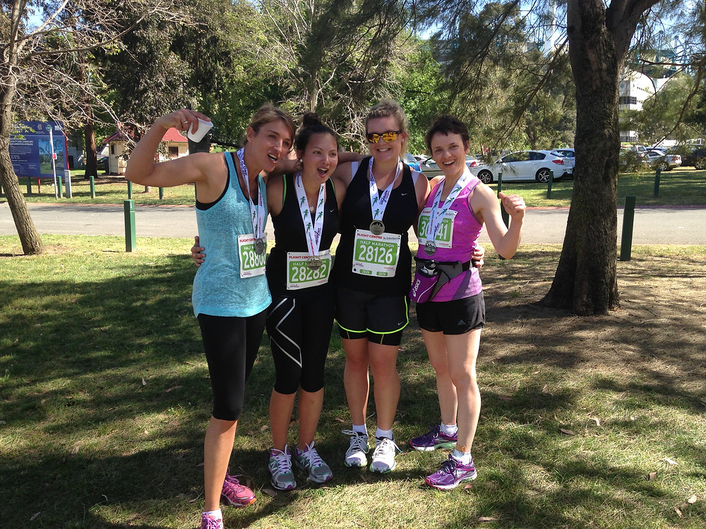 britt and girls melb marathon.jpeg