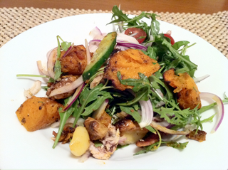 Chicken Pumpkin Salad