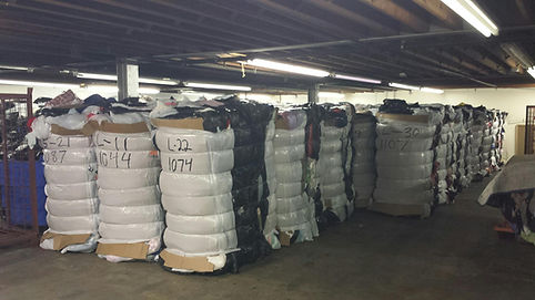 Bulk used clothing bales supplier