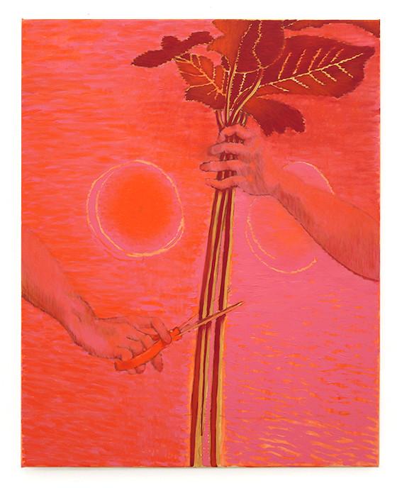 Rose Sequence (cutting) II, 2016