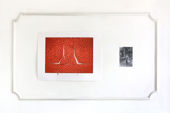 Installation image from The Kennignton Residency, 2016