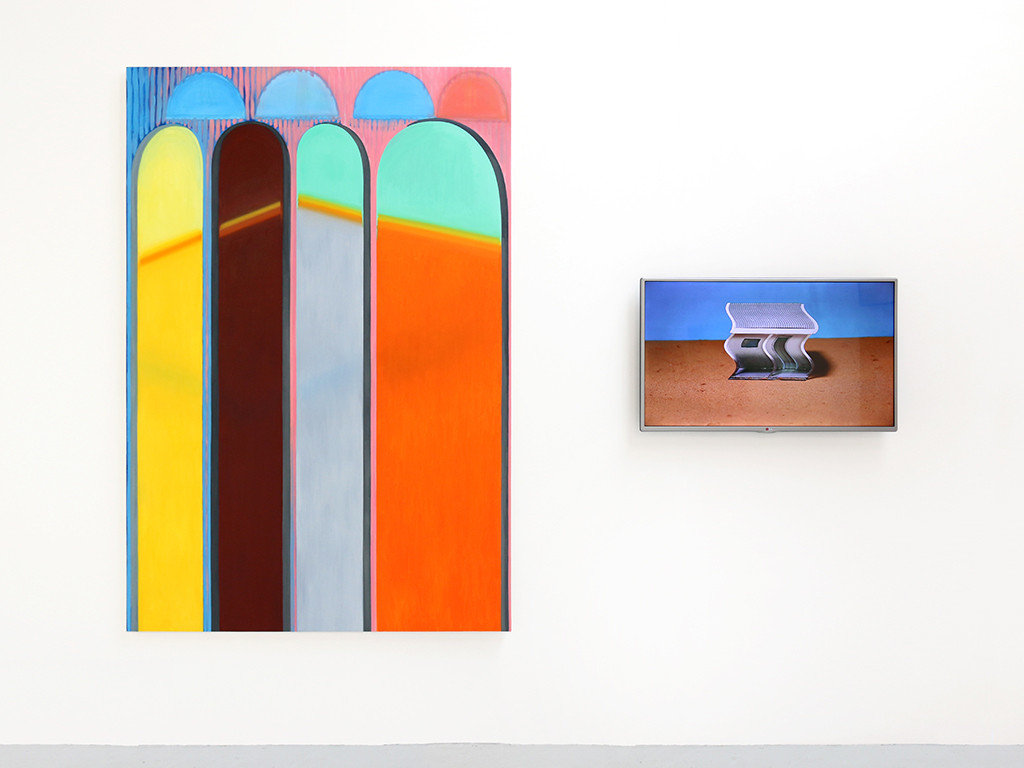 Installation image from RA Schools Show, 2015