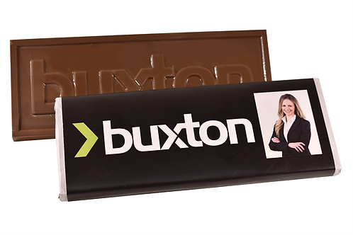 Large custom bar with custom printed wrapper (pack of 50)