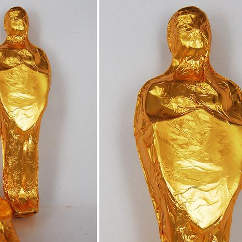 Foiled Large 3D Statuette