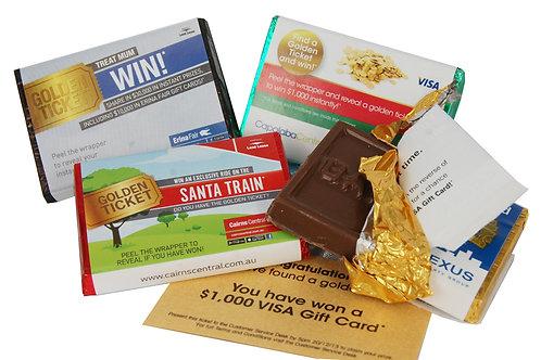 Custom Wrapped Chocolate Mini (x100)