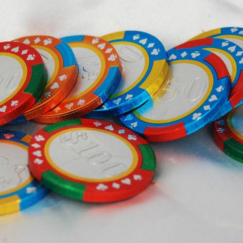 Foiled Poker Chips