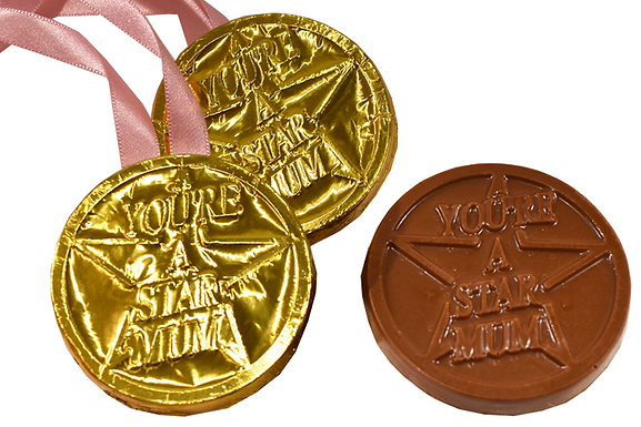 You're A Star Mum chocolate medal (Pack of 25)