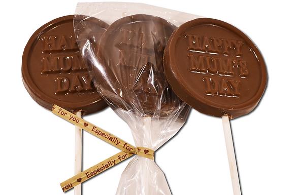 Happy Mum's Day Chocolate Pop (Pack of 50)