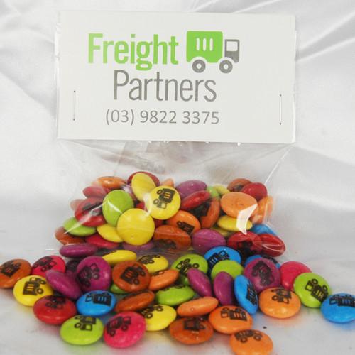 Printed Smarties / Beans 50 gram Hang Sell