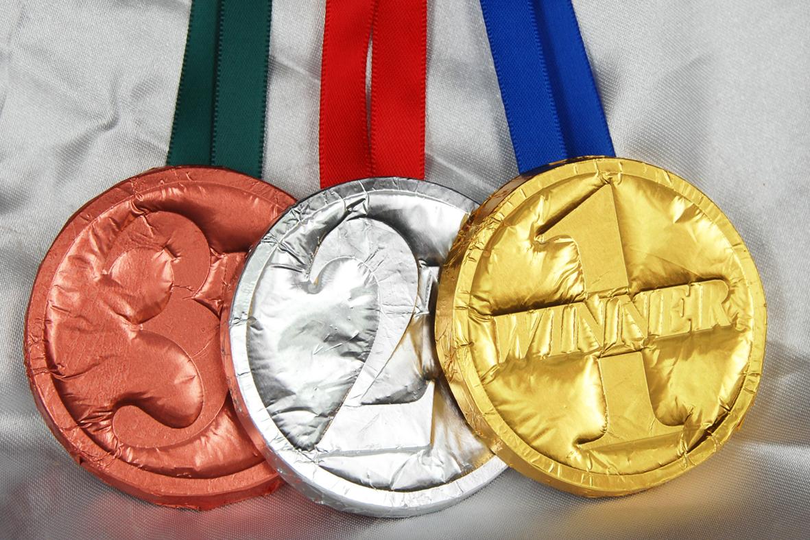 Standard Foiled Medals