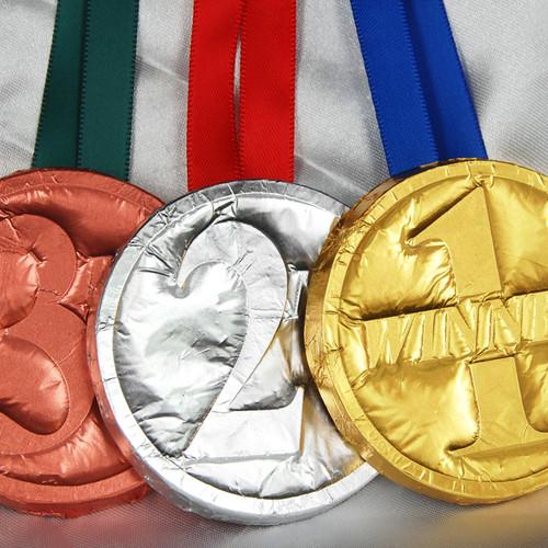 Foiled Standard Medals
