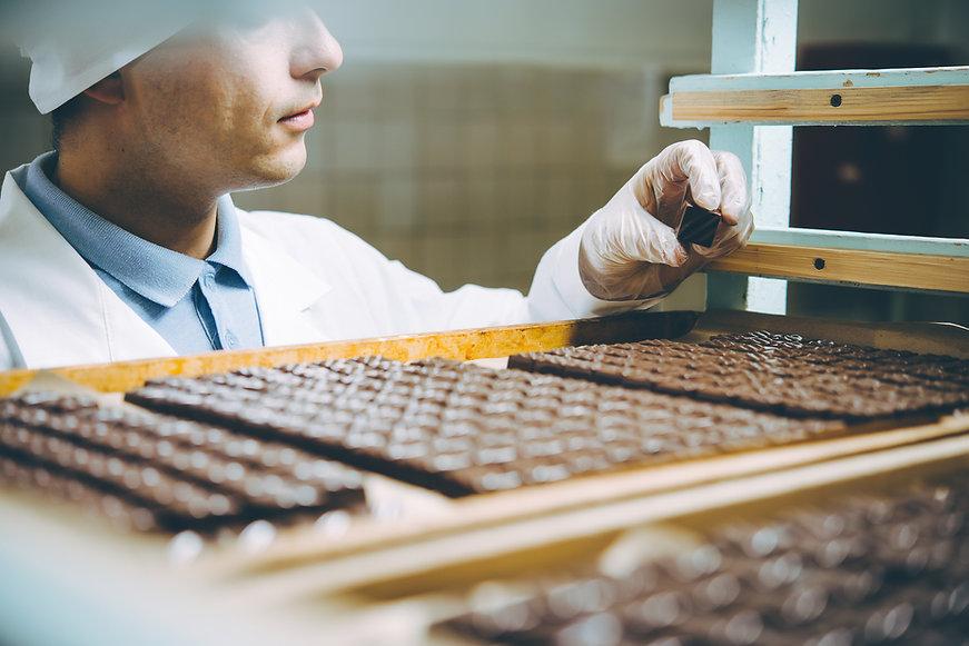 chocolate candies process making master