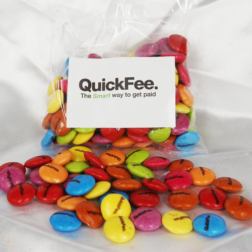 Printed Smarties / Beans 100 gram bar
