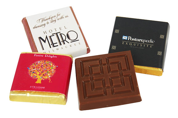 Custom Wrapped Chocolate Petite (x100)