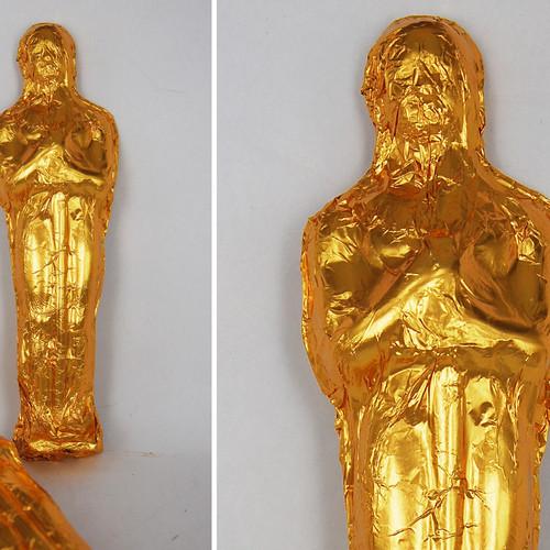Foiled Small 3D Statuette