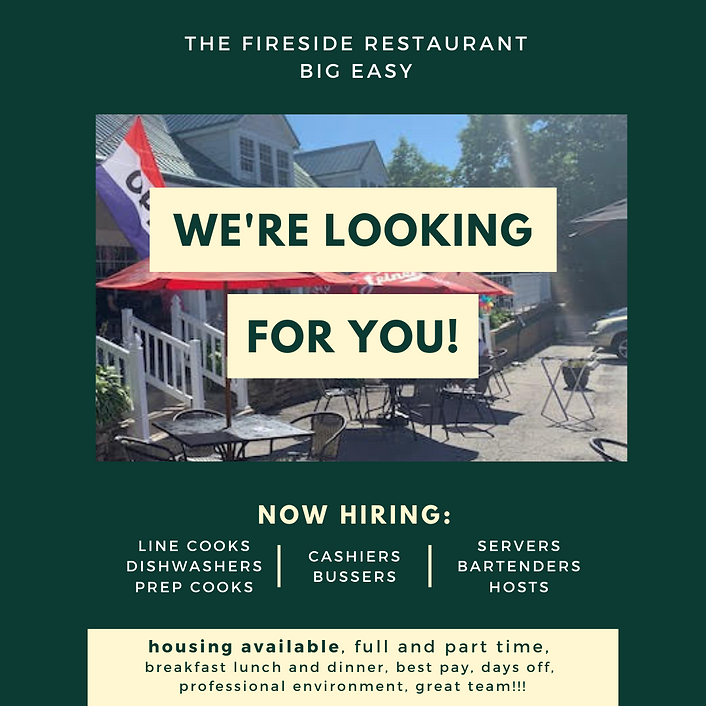 FIRESIDE BIG EASY Photo Hiring Poster.png