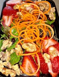 Strawberry Candy Walnut w/ Citrus Vinaigrette