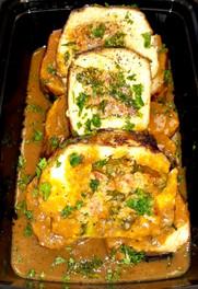Stuffed Chicken Breast w/ Spinach, Sundried Tomato & Boursin Cheese