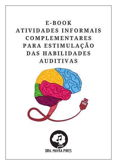 E-book Atividades Complementares para Estimulação das Habilidadades Auditivas