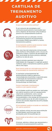 Cartilha de Treinamento auditivo