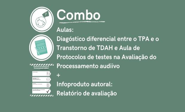 Aula de Diagnóstico + Aula Protocolo de Testes + Relatório de Avaliação
