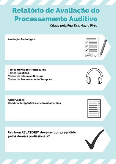 Relatório de Avaliação do Processamento Auditivo