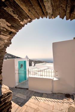 Kardiani house entrance