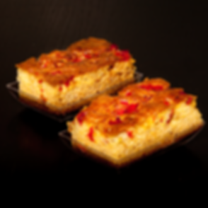 Ohinene Restaurant Pain de Maïs au Poivrons