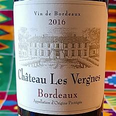 Château Les Vergnes 2016 - Bordeaux rouge