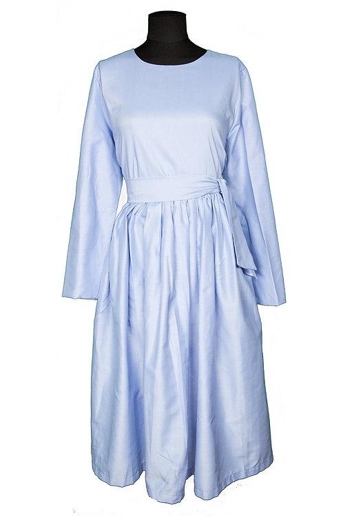 Robe Coton Bleu ciel