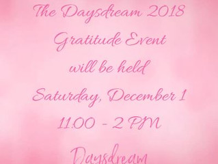 2018 Daysdream Gratitude Event
