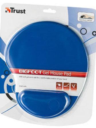 משטח לעכבר מהודר עם כרית גל איכות צבע כחול