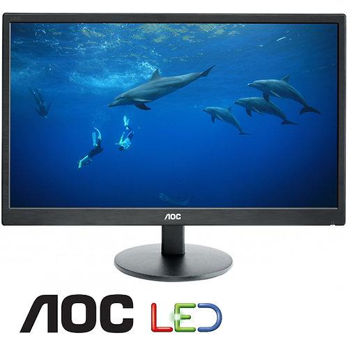 LED 22 AOC DVI VGA SPK 3YEAR מסך מחשב