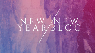 NEW YEAR/NEW BLOG