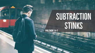 Subtraction Stinks