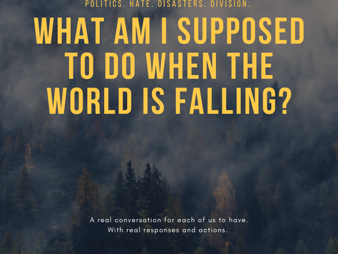 What Am I Supposed To Do When The World Is Falling?