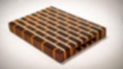 Small end grain cutting board