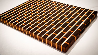 Large end grain cutting board
