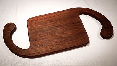 Walnut face grain cutting board
