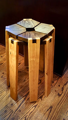 Photo of contemporary kitchen stools