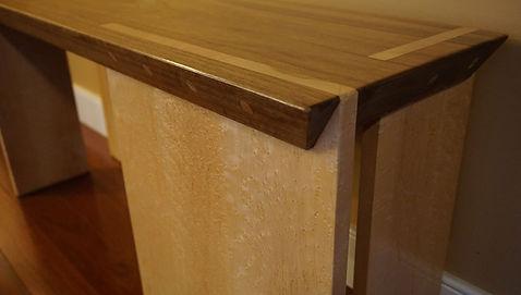 Photo of hallway bench