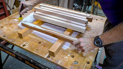 Gluing up the pieces