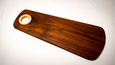 Walnut serving tray