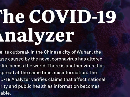 Introducing....The COVID-19 Analyzer!